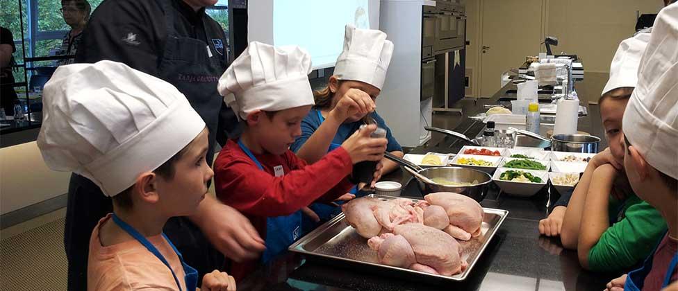 cours de cuisine pour enfants - v-zug sa - suisse