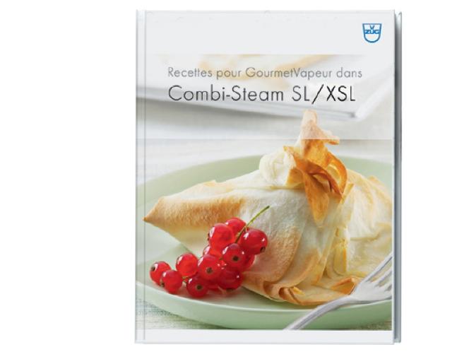 Livre de recettes GourmetVapeur, Combi,Steam SL/XSL, francais