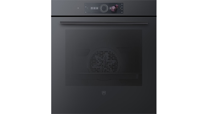 V-ZUG Oven Combair V6000 60C, Standard width: 55 cm,Standard height: 60 cm, Mirror glass black, Touchscreen with CircleSlider