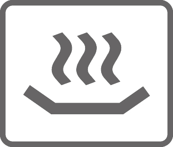 Pictogram forHeating function