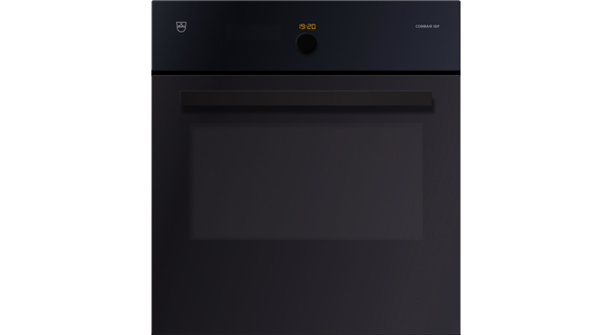 V-ZUG Oven , Standard width: 60, Standard height: 60.0, Black glass, Handle: Black designer handle