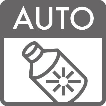 Piktogramm fürGlanzmittel-Dosierautomatik