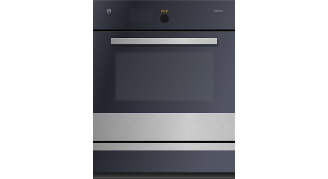 V-ZUG Combair SL oven, width 60 cm, ChromeClass design, chrome design handle, 230 or 400 V, heated system drawer