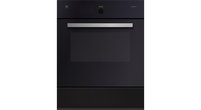 V-ZUG Combair SL oven, width 60 cm, mirror glass design, chrome design handle, 230 or 400V