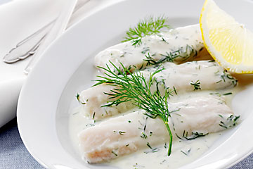 Zug-style fillet of perch