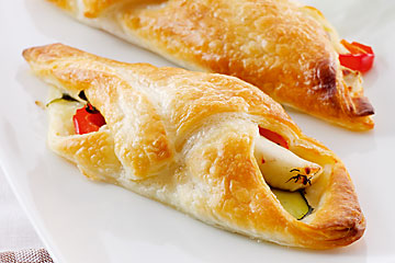 Fish in puff pastry