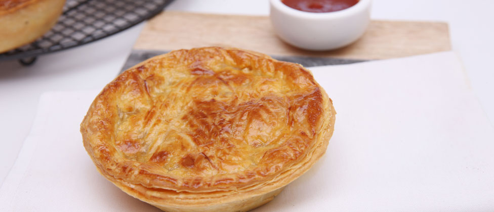 Beef, Cheese and Bacon Pie