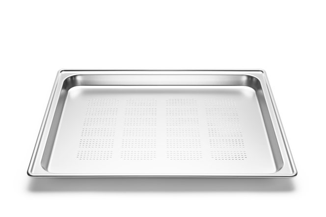 Stainless steel tray perforated, Amendment 2