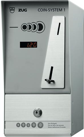 V-ZUG Coin-System 1 Anzahl Geräte für Parallelbetrieb: 1.0